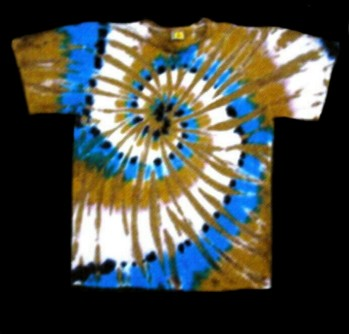 Desert Turquoise imprinted design for T-shirts and for sweatshirts