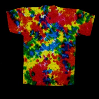 Color Burst tie-dye T-shirt