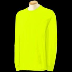 Long Sleeve Fluorescent Neon T Shirts By Gildan