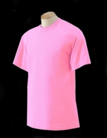 Fluorescent / Neon Safety T-Shirts by Gildan